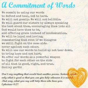 Commitment-of-Words